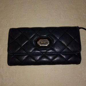 Vintage DKNY leather wallet
